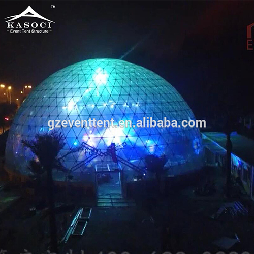 Clear transparent dome tents for events