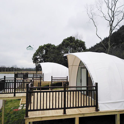Shell Shape Steel Frame Hotel Tents