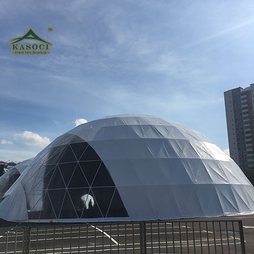 5-30m large geodesic dome tent for party event