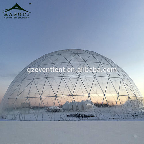 Luxury Big Party Event Transparent Winter Igloo Geodesic Tent Planetarium Prefabricated Houses Dome