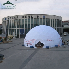 High Geodesic Dome Tents with PVC for Outdoor Activity
