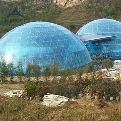 Clear transparent dome tents for Leisure eco-restaurant bubble tent