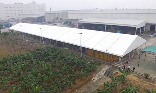 Customized Dimension Outdoor Aluminum Frame Tent in China