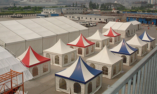 White Tent Canopy for Outdoor Events, Canopy Pagoda Tents for Sale