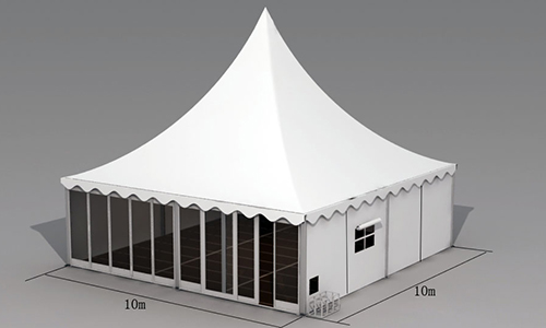 Special Glass Pagoda Tent For Exhibition Event