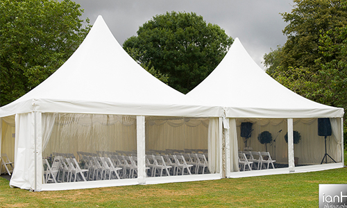 Flame Retardant White Pagoda Marquee for Outdoor Party and Events