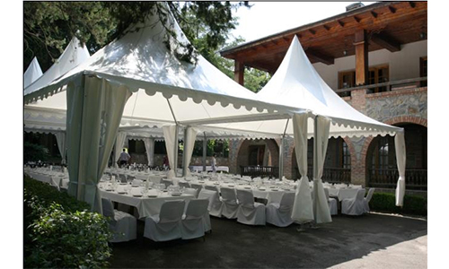 5x5 Pagoda Tent Pagoda for Luxury Wedding