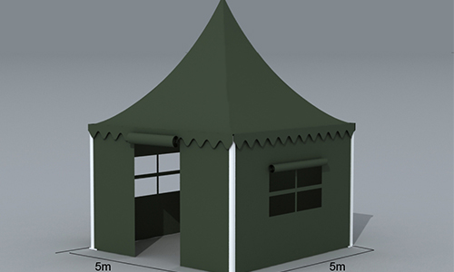 Durable military gazebo tents pagoda with the professional production team for Catering
