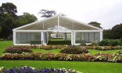 Large clear Wedding marquee in Durable Aluminum Alloy Structure