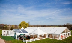 Hot Sale Luxury Wedding Tent for Rental or Self Use Easy to Install