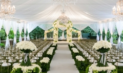 Aluminum Alloy Frame Marquee Tents Clear Wedding Tents