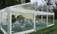 Wedding Tents for 500 People Durable Fire Retardant Clear Wedding Tent
