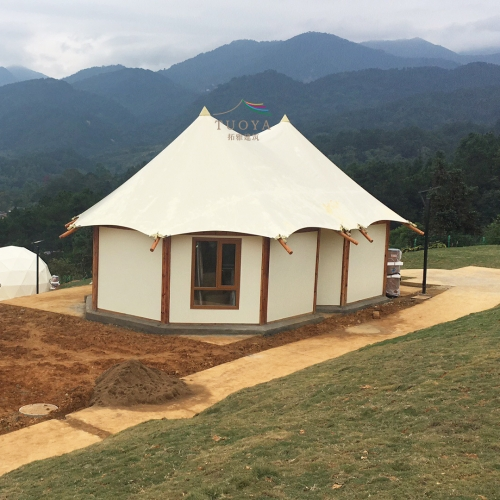 New Design Outdoor Safari Glamping Tent Hotel, Luxury Resort Tent Hotel