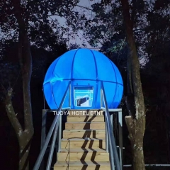 Outdoor Glamping Tent House, Camping Tree Tent, Cocoon Hanging Tent